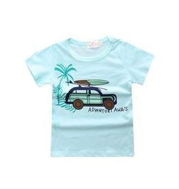 Baby Kiss Summer Split Shirt