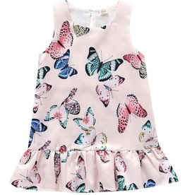 Baby Kiss Silky Butterfly Dropwaist Top