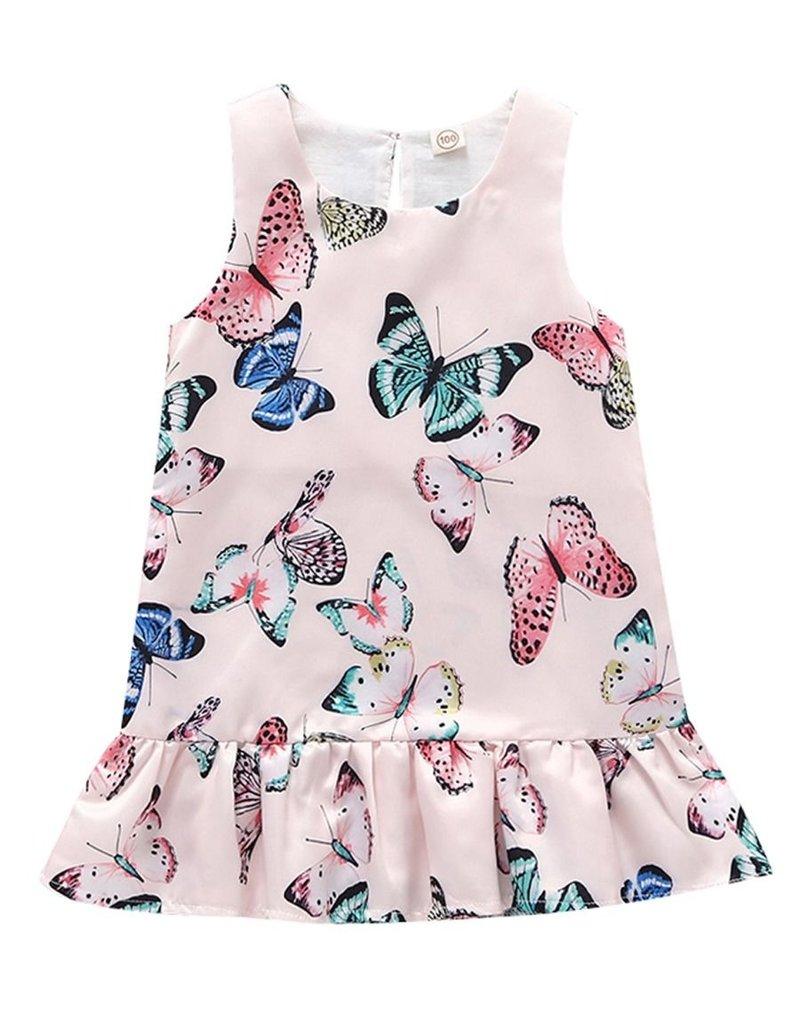 Baby Kiss Silky Butterfly Dropwaist Top