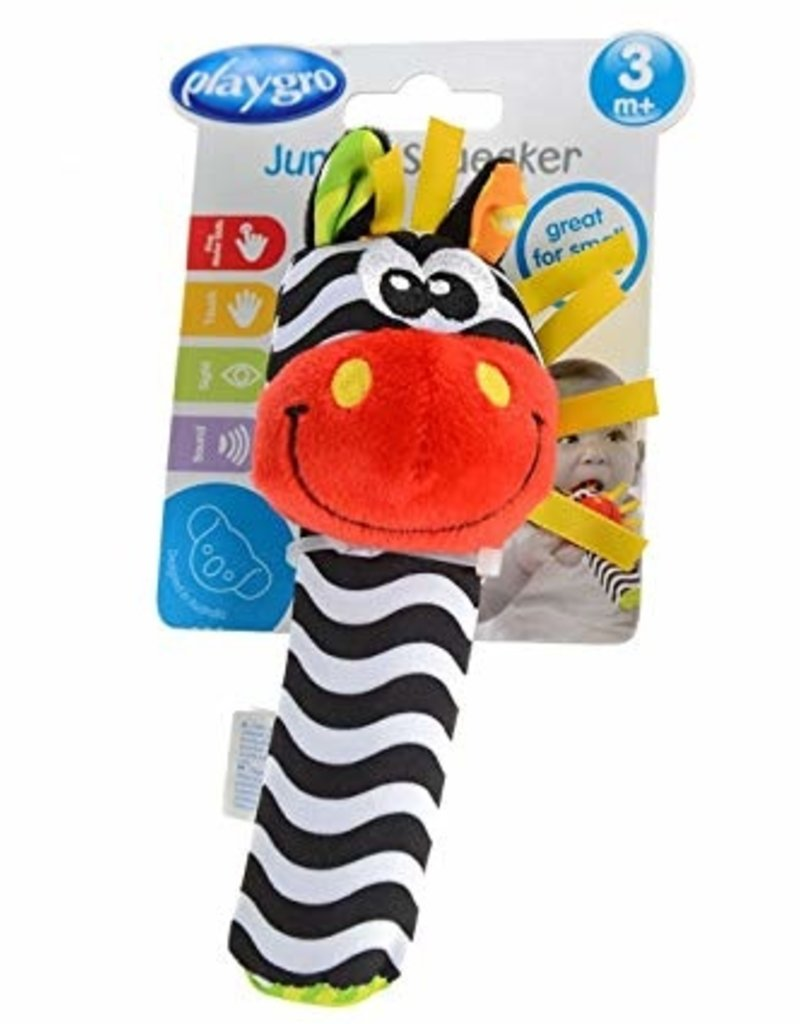 Playgro Jungle Sqeaker- Zebra