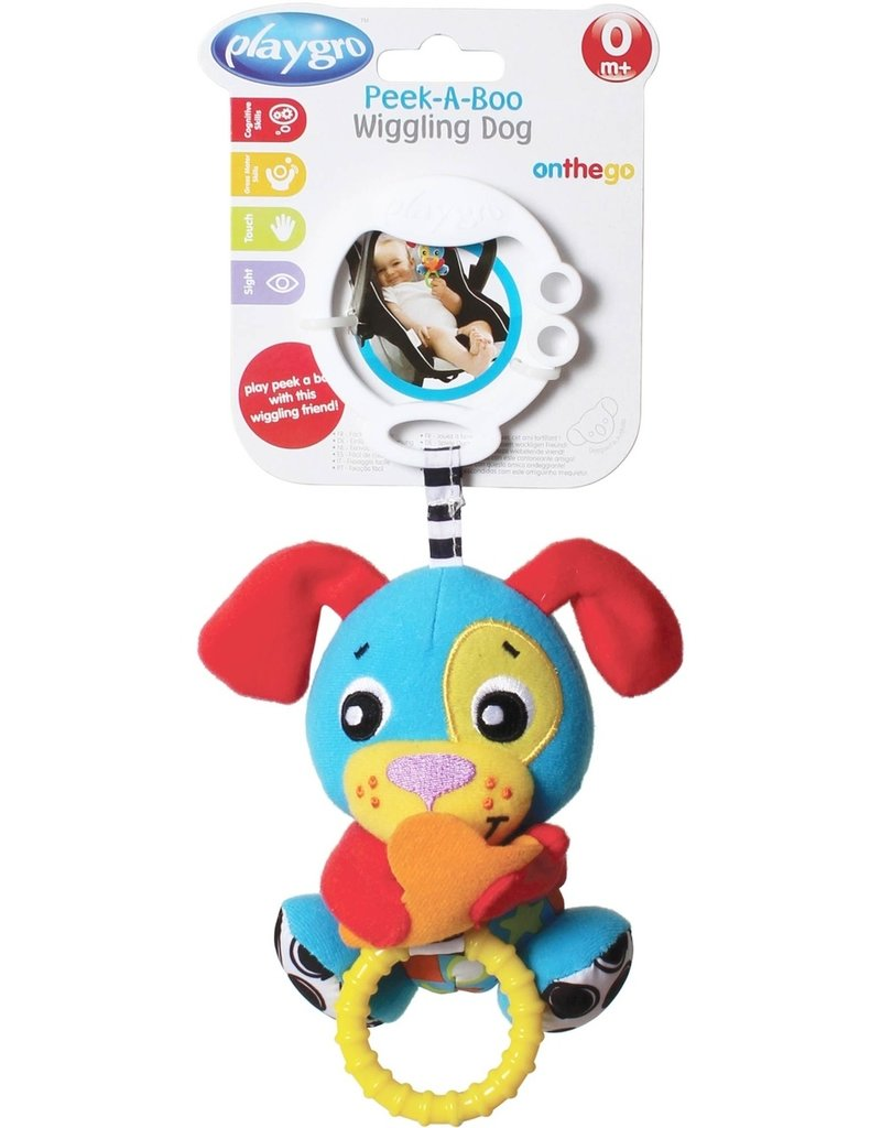 Playgro Peek-a-boo Wiggling Puppy