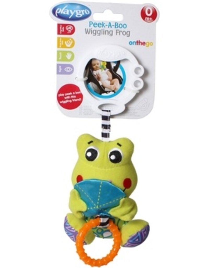 Playgro Peek-a-boo Wiggling frog