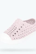 Native Shoes Native's Jefferson Slip On- Milk Pink Bling