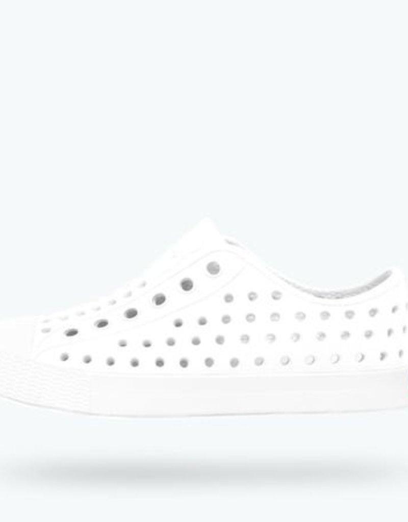Native Shoes Native's Jefferson Slip On- Shell White