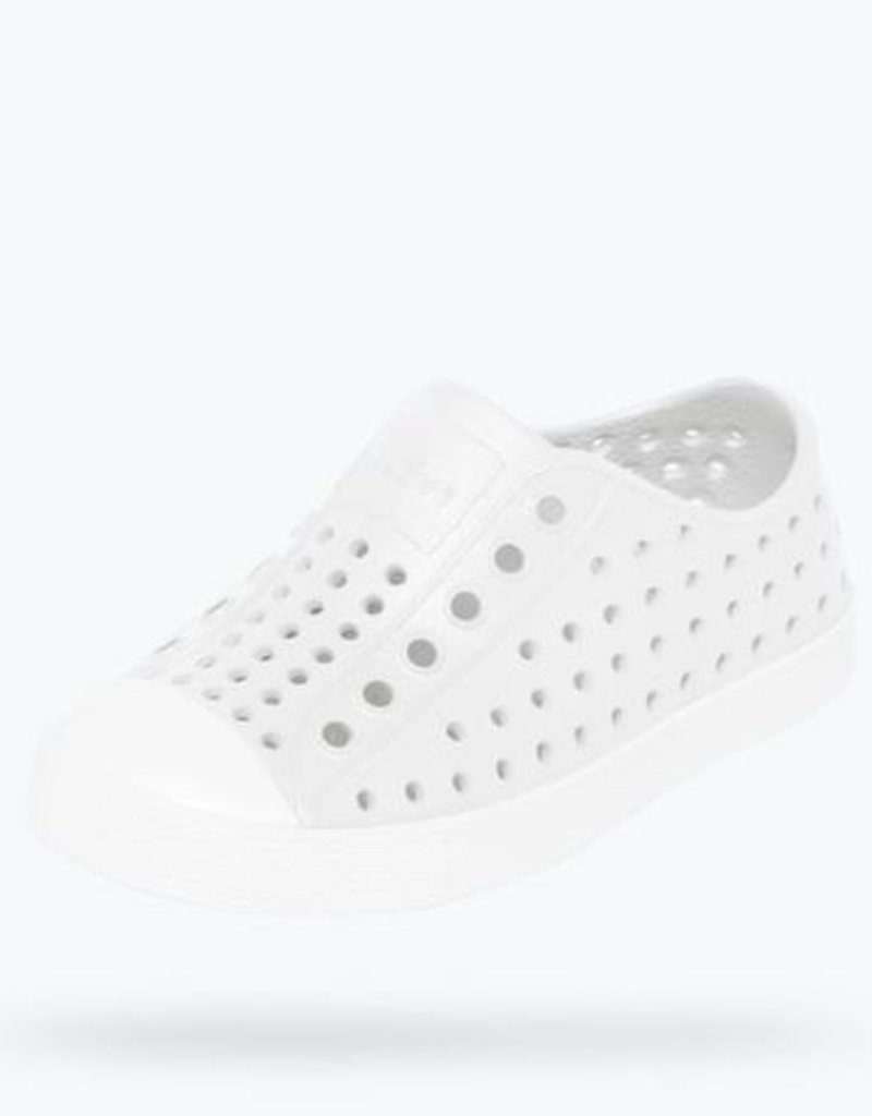 Native Shoes Native's Jefferson Slip On- Shell White
