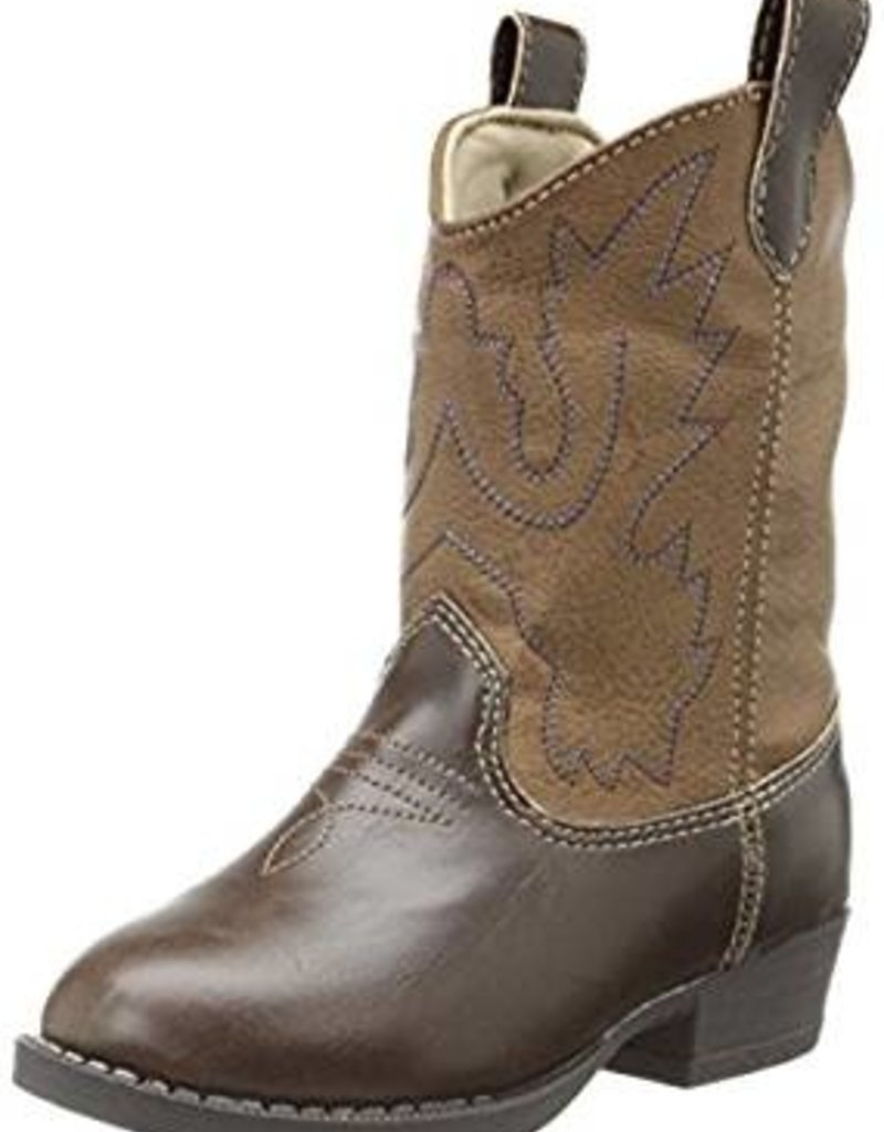 Trimfoot Co  Brown Country Western Boots