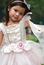 Great Pretenders Golden Fairy Rose Dress, 5-6