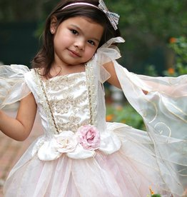 Great Pretenders Golden Fairy Rose Dress, 5-6