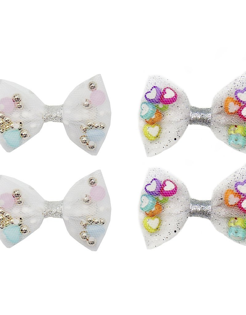 Great Pretenders Bowtastic Party Hair Clips 2 pc.
