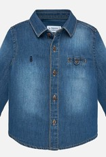 Mayoral Denim Shirt Long Sleeve - Mayoral