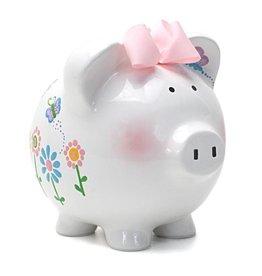 Flutterflies Piggy Bank