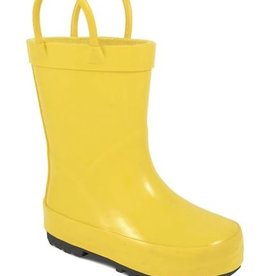 Trimfoot Co. Classic Yellow Rubber Rainboot