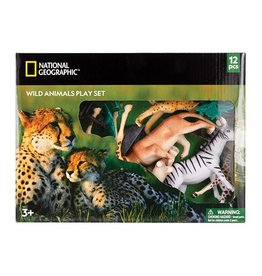 National Geographic Wild Animal Playset