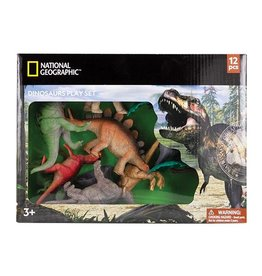National Geographic Dinosaur Playset