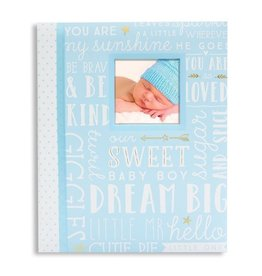 Dream Big Baby Record Book Blue