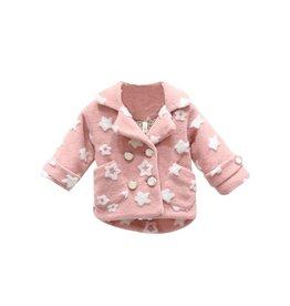 Faux Fur Pink Star Jacket