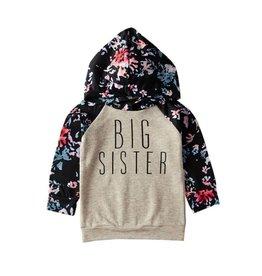 Floral Big Sister Hoodie