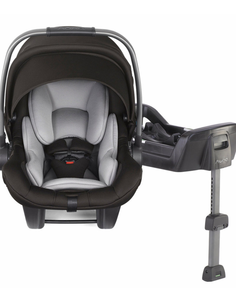 BB Nuna Pipa Lite LX Infant Car Seat with Base, Caviar