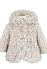 Widgeon Shaggy Hooded Snap Close Jacket