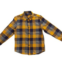 Bear Camp Harvest Gold Woven Flannel