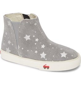 Jellycat Keegan Grey Suade Star Boots