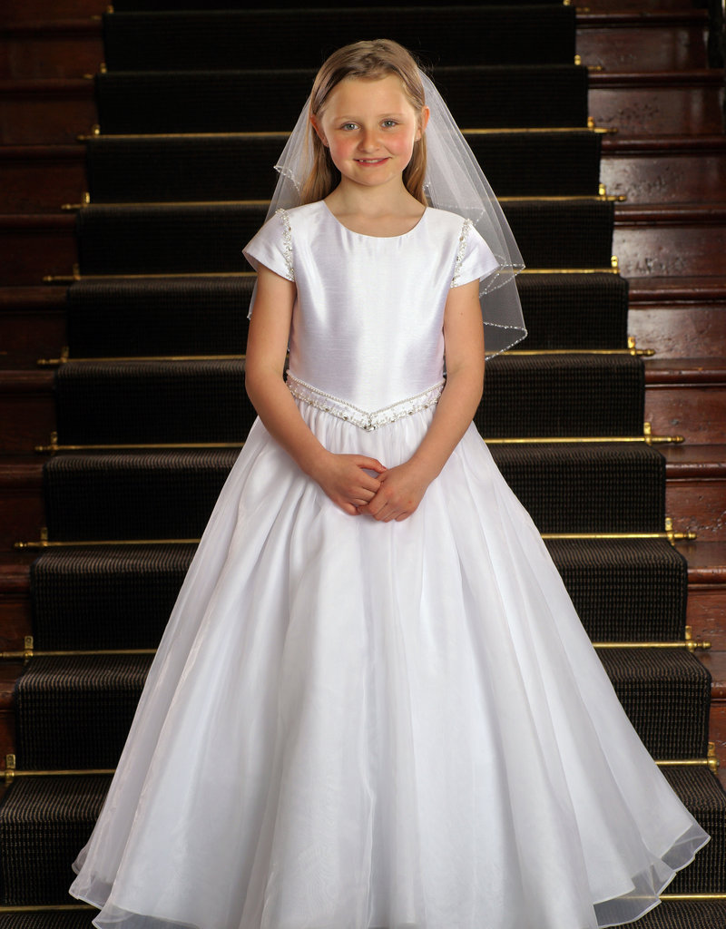 Sweetie Pie Classic V Waist First Holy Communion Dress