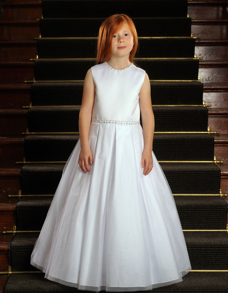 Sweetie Pie Classic Tank Style First Holy Communion Dress