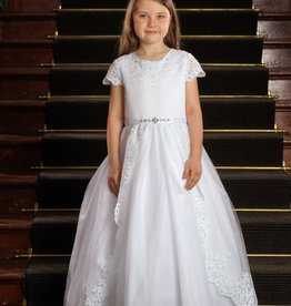 Sweetie Pie Lace Princess First Holy Communion Dress