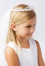 Hello Baby Princess Crown Communion Veil