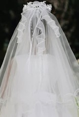 Hello Baby Pearly & Curly Communion Veil