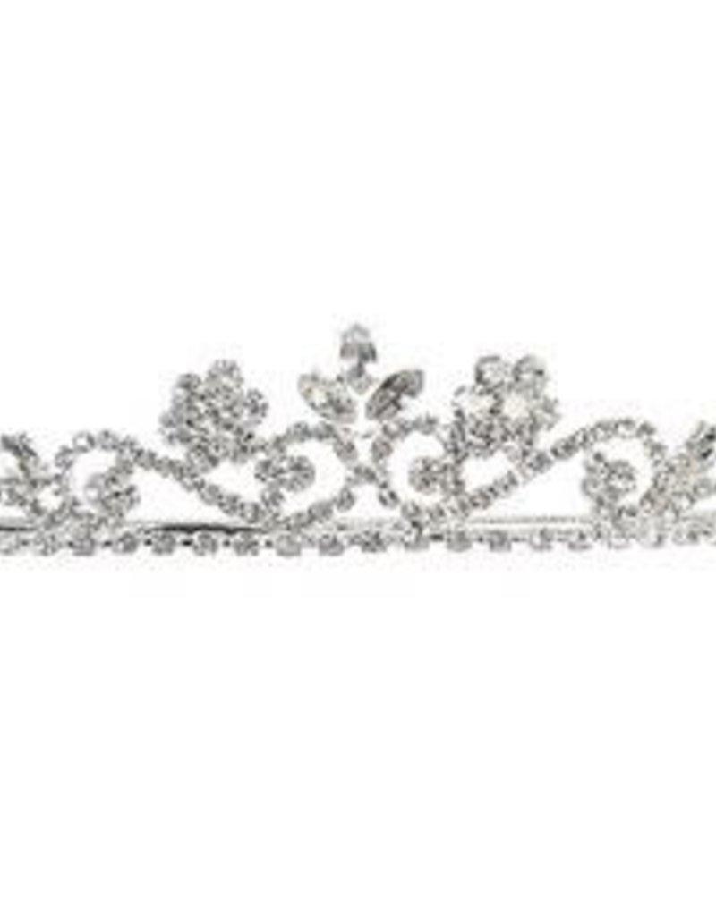 Hello Baby Classic Princess Style Silver Communion Tiara