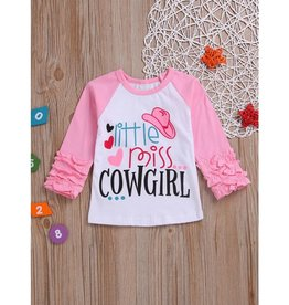 Baby Kiss Little Miss Cowgirl Tee