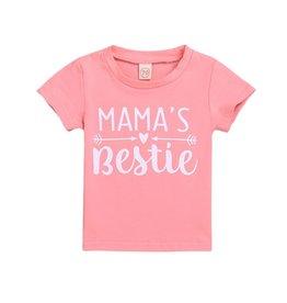 Baby Kiss Pink Mama's Bestie Tee