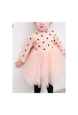 Baby Kiss Pink Polka Dot Tulle Dress