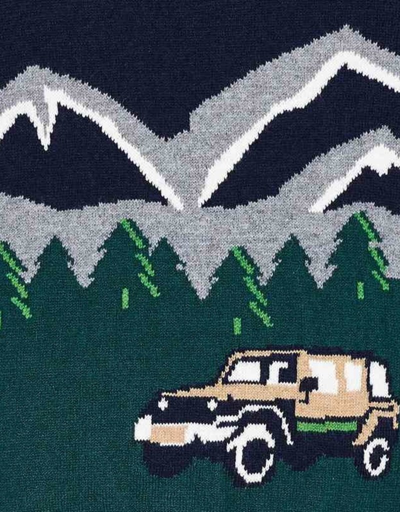 Mayoral Navy Mountain Sweater - Mayoral