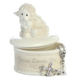 Ebba Blessing Lamb, Rosary Box