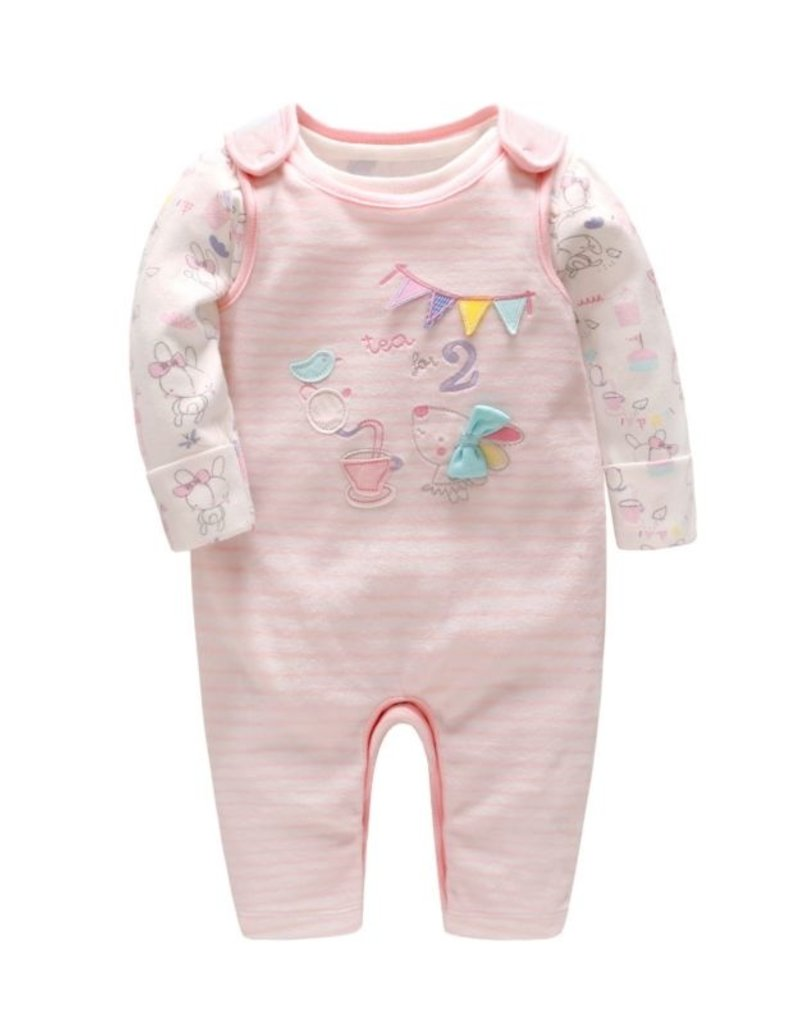 Baby Kiss Tea for 2 Mouse Jumper Set