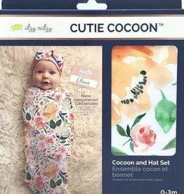 Itzy Ritzy Cutie Cocoon w/name tag 0-3m