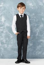 Tip Top Kids Boys Holy Communion Slim Fit Suit BLACK