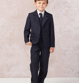 Tip Top Kids Boys Holy Communion Slim Fit Suit NAVY