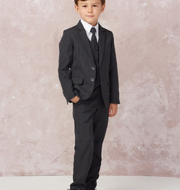 Tip Top Kids Dark Gray Slim Fit Communion Suit