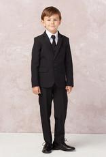 Tip Top Kids Black Communion Suit