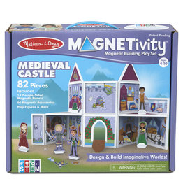Melissa and Doug Magnetivity- Medieval Castle