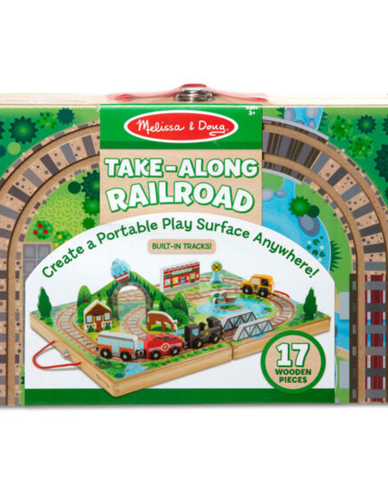 Melissa and Doug Take Along Railroad