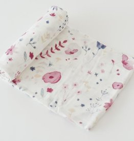 Little Unicorn DELUXE Cotton Muslin Swaddle- Fairy Garden