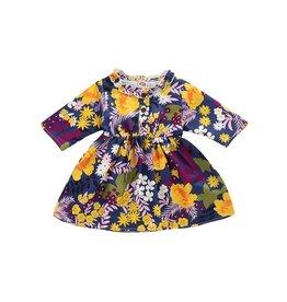 HB Retro Floral Navy Dress