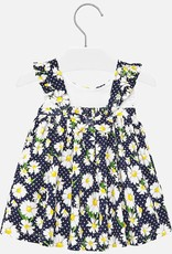 Mayoral Navy Daisy Baby Sundress