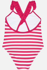 Mayoral Striped Tucan Swimsuit