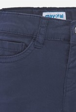 Mayoral Navy Twill Baby Shorts