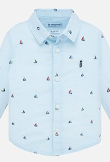 Mayoral Sailboat Baby Buttondown